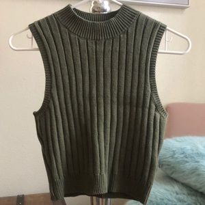 Forever 21 Semi-Cropped top